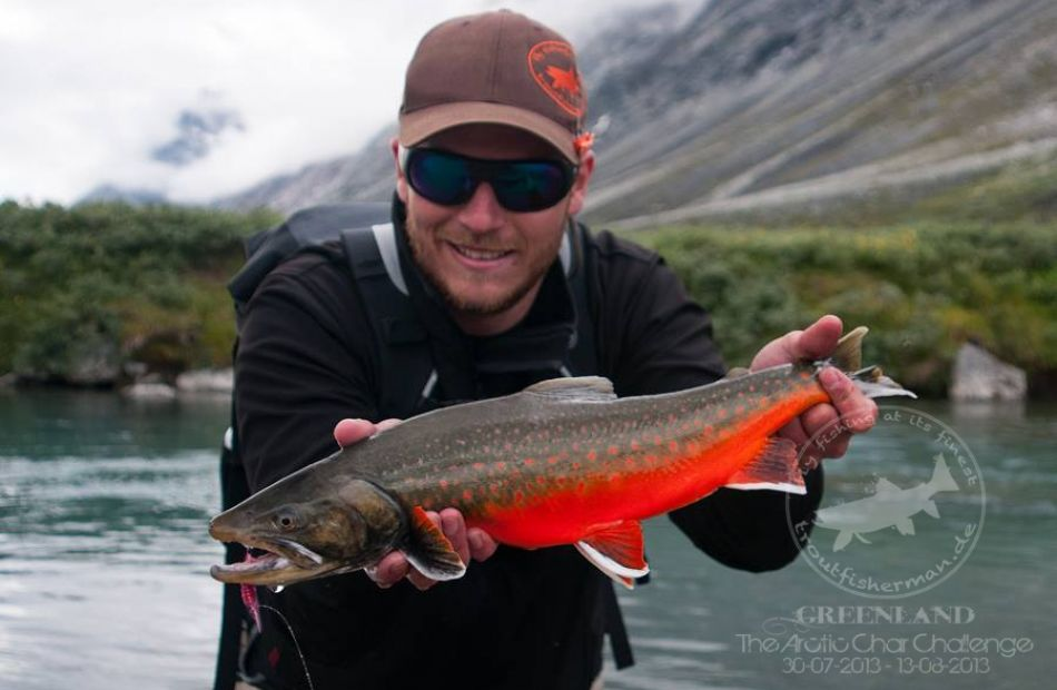Arctic char flyfishing trips in Greenland