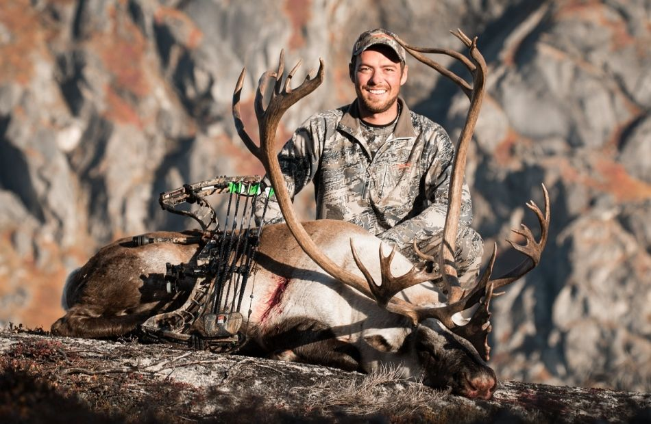 Bowhunting Arctic Island Caribou in Greenland