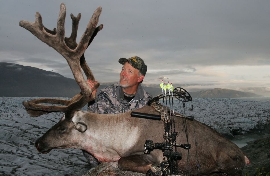 Caribou hunting in Greenland
